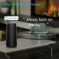 Cheap Alexa Voice Control Smart AI Speaker Double Sound Track Support Android And IOS for sale