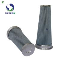 Cheap Pleated Vacuum Cleaner Air Filter Cartridge PTFE Material 0112311 Model for sale