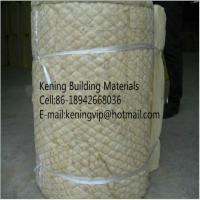 Cheap Rock wool blanket insulation with wire mesh for sale