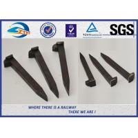Cheap HDG / Wax / Bitumen Railroad Track Spikes Railway Coach Spike for sale