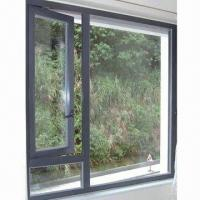 China Aluminum Casement Window with Top Chinese Hardware on sale