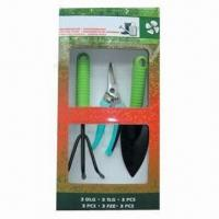 Cheap Garden Tool Set, Made of Steel and Plastic for sale