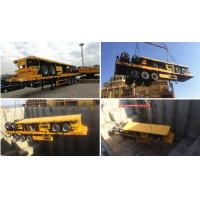 Tri Axle 40ft Container Flatbed Semi Trailer Manufacturers