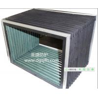 Cheap dust protective bellows made with metal frame +PVC +fiber cloth cover  for scissor lift post lift for sale