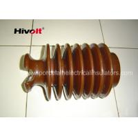 Cheap Brown Color Post Type Insulator , Pin Post Insulator OEM Available for sale