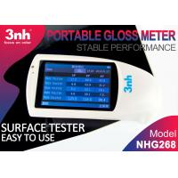 Cheap NHG268 Digital Gloss Meter  20° 60° 85° Degree Touch Screen Operation Surface Tester for sale