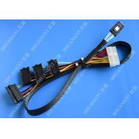 Cheap Serial Attached SCSI SAS SFF 8087 TO SFF 8482 Cable 28AWG Multi – Port Length 65cm for sale