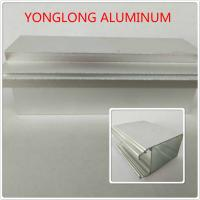 Cheap Silver Color Polished Aluminium Alloy Profiles T5 For Window / Door Materials for sale
