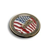 Creative Custom Promotional Coins , US Military Challenge Coins OEM Available