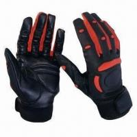 China Batting/Baseball Gloves, Available in Different Materials, Colors and Styles on sale