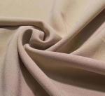 Cheap 4 way stretch single side crepe lycra dress fabric 92/8 polyester lycra stretch one side brushed fleece design garment f for sale