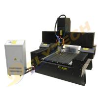 China small size 6090 granite engraving machine with heavy duty on sale