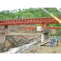 Buy cheap Bailey Steel Timber Deck Bridges High Stiffness With Heavy loading  from Wholesalers