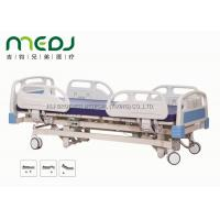 Cheap Adjustable Electric Hospital Bed MJSD04-01 ABS Steel Frame With 3 Functions for sale