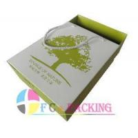 Quality Elegant Gift Box with Cotton Handle (FC-GPB-12) wholesale
