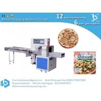 Cheap Frozen handmade thick-soled pizza high speed automatic pillow type packing machine for sale