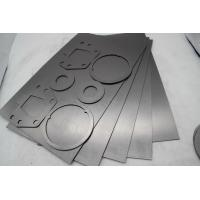Quality Sealing Flexible Graphite Gasket Sheet , Tanged Graphite Sheet With Wire Mesh wholesale