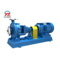 Cheap Single Suction Chemical Transfer Pump IH Series Single Stage High Mechanical Level for sale
