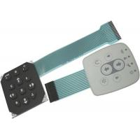 China Single Keyboard PCB Membrane Switch Key-embossing With Pure-Tin Plating on sale