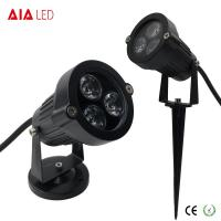 Cheap IP65 round D95mm black exterior 3W LED garden lights for hotel for sale