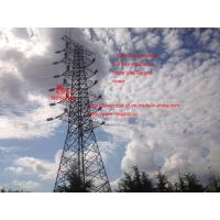Buy cheap 110KV Transmission line four circuits umbrella typeTension tower of megatro from wholesalers