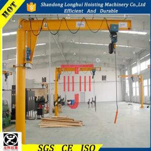 Cheap Heavy Duty Workshop Pedestal jib Crane for sale