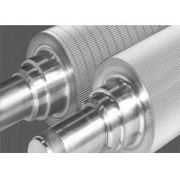 Cheap Tungsten Carbide Corrugating Rolls Grinding Shaft Super Wear Resistant for sale
