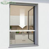 Cheap Easy Cleaning Roller Fly Screen Window Stable Structure CE Certificate for sale