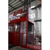 Quality Double Cage Construction Material Hoist Lifting Equipment 36 M / Min 60HZ Ketong SC200 200TD wholesale