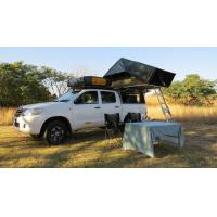 Cheap Anti UV 4x4 Camping Tents , Rooftop Pop Up Camper Tent With 2.3m Ladder for sale