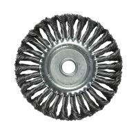 China Metal Polishing Stainless Steel Rotary Wire Brush Wear Resistant For Removing Rust on sale