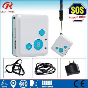 Cheap SOS panic button alarm micro mini children personal gps tracker for sale