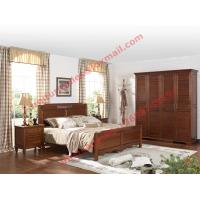 Cheap English Country Style Solid Wood Bed in Wooden Bedroom Furniture sets for sale