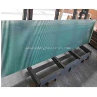 Cheap Blue Coated Silkscreen Printed Glass For Table Tops , Bulletproof for sale