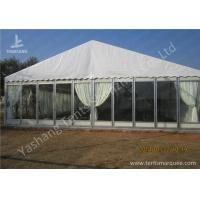 Cheap Transparent Glass Wall Outdoor Luxury Wedding Tents With Full Beautiful Decorations for sale