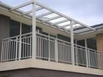 Powder Coated Eco Friendly Waterproof Aluminum Walk Boards / Aluminum Fence