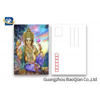 Cheap Souvenirs Custom Lenticular Postcards 5D Effect Two Sides CMYK Printing for sale