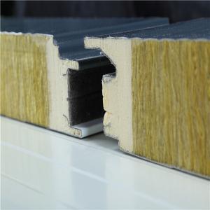 Cheap Anti Corrosion 100mm Metal Sandwich Panels Galvanzied Steel Sheet for sale