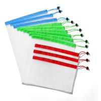 China Reusable Mesh Produce Bags Washable Bags for Grocery Shopping Storage Fruit Vegetable Sundries Organizer Storage Bags on sale