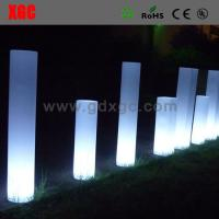 Cheap Plastic  Light up multi colors round  LED  Decorative Furniture for outdoor for sale