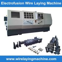 Cheap canex wire laying machine molds manufacturing electro fusion fittings, saddle wire laying for sale