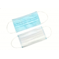 Cheap Blue Safety OEM Non Woven Disposable Earloop Face Mask for sale