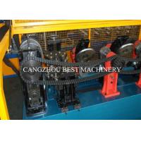 Cheap Galvanized Metal Steel Sheet CZ Purlin Cold Roll Forming Machine Hydraulic Cutting Type for sale
