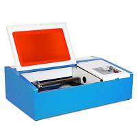 Buy cheap Small Mobile Screen Protector Laser Cutting Machine Seal Carving , Acrylic 3D from wholesalers