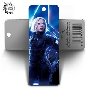 Cheap Marvel Heros Design PET 3D Lenticular Bookmark 0.6mm PET+157g Coated Paper for sale