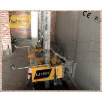 Cheap Hydraulic Mortar Mortar Spray Machine Cement Wall Rendering 4mm - 30mm for sale
