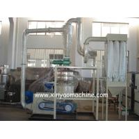 SMW Series PVC Pulverizer Machine / PVC milling machinery Dual cooling system