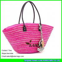 Cheap New Designer Beach Totes Wholesale wheat Straw Bags for sale