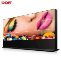 Cheap Narrow Bezel DDW LCD Video Wall Monitor Ultra Thin 8 Bit 16M Color Support Variety Signal Ports for sale