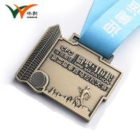 Cheap Personalized Metal Award Medals For Sports Day Folk Art Style 65*53mm for sale